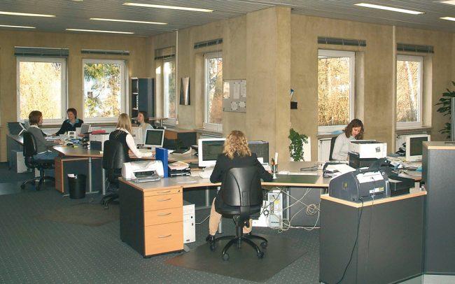 BÖGER Großraumbüro