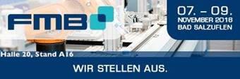 FMB 2018 - Zuliefermesse Maschinenbau